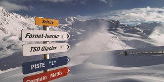 Les premiers skieurs attendus dès ce week-end à Val d'Isère  ©Facebook Val d'Isère