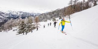 Puy Saint Vincent récompéensée pour ses itinéraires ski de rando ©Agence PLRP Emeline LE THOMAS