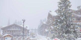 Zdjęcia z Alp: spadło do 75 cm śniegu! ©Courchevel Facebook
