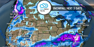 Fly South, Pac NW for Heavy Snow: 12.6 Snow B4U Go ©Meteorologist Chris Tomer