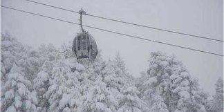 Record Snowfall At Baqueira Beret