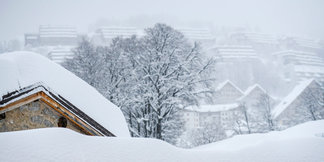 Veľa snehu v Alpách (november 2019) - © Prato Nevoso Ski Facebook