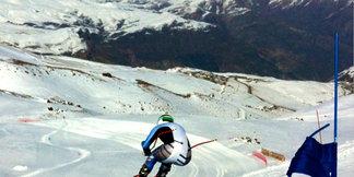 U.S. Ski Team Athlete Travis Ganong Training in Chile   ©Photo by Daron Rahlves.