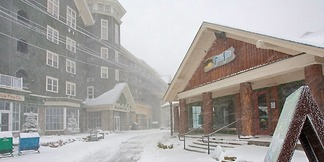 Hurricane Sandy Super Storm Hits Mid-Atlantic Ski Areas ©Snowshoe Mountain Resort
