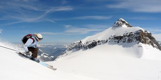 Bonne neige garantie pour ce week-end du 20 avril ©www.glacier3000.ch