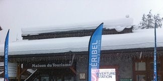 Opening day powder pictures from Saturday ©Meribel