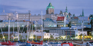 Top NYE Ski Towns: Quebec City ©Quebec City Tourism