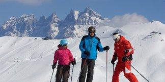 Portes du Soleil: dos paises unidos por su pasión por el esquí ©Matthieu Vitré. Portes du Soleil