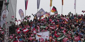Ski-WM 2013 Schladming: Highlights vom Super-G der Damen - © Hook Baderz/Agence Zoom