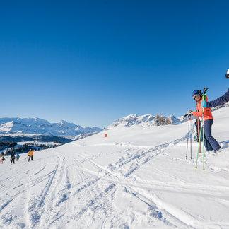 Dolomiti Superski: Po sněhu zase slunce! Únor 2017 - © ©Dolomiti Superski www.wisthaler.com