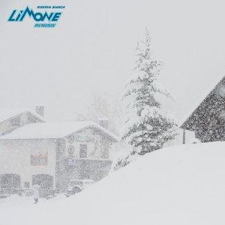 Verse sneeuw in de Alpen, 6 november 2017 - © Limone Riserva Bianca Facebook