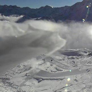Śnieg na początku października 2018 - © Facebook Kaunertaler Gletscher