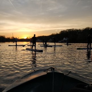 Sunset Stand Up Paddle Session - © Dimitri Papageorges/Vanessa Jansen