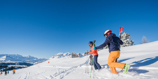 Dolomiti Superski: dopo la neve, il sole! Febbraio 2017 - © ©Dolomiti Superski www.wisthaler.com