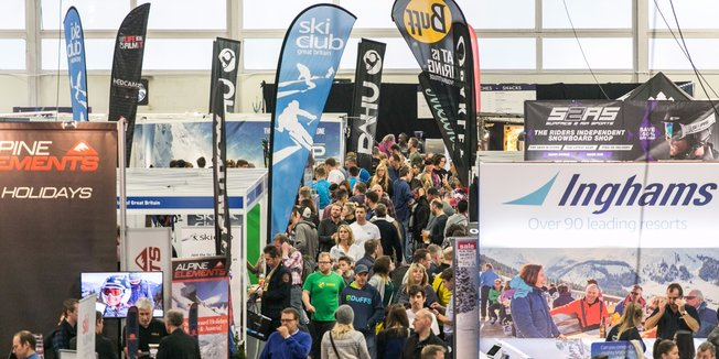 London's Ski & Snowboard Show at Battersea Park 2016 - © Ski & Snowboard Show