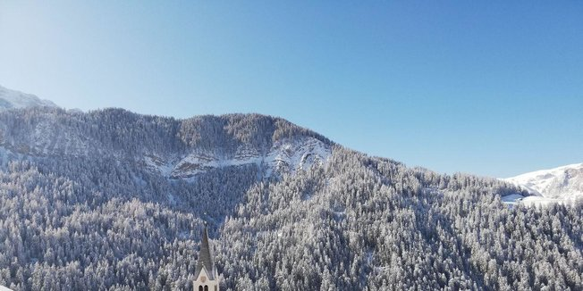 L'ultima nevicata di Marzo in Alta Badia - © Alta Badia Facebook