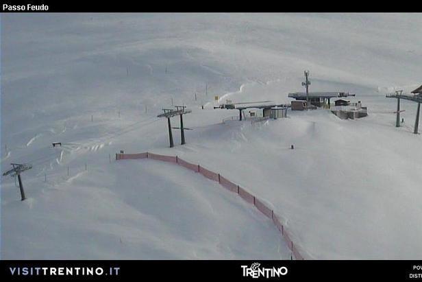 L'inverno non è mai finito! Neve fresca del 25.05.13 - Pampeago Predazzo Obereggen