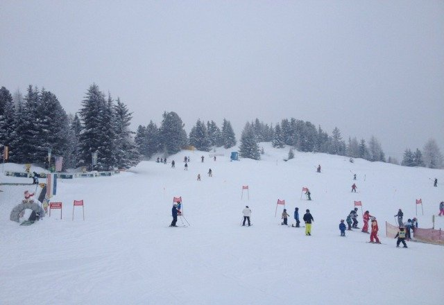 great day conditions amazing fresh snow today