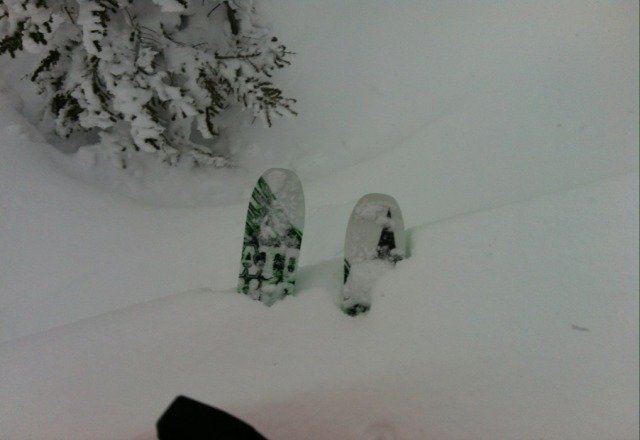 serious pow out there if you really want it