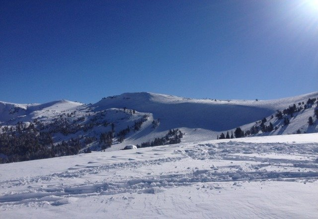 great day! coooold but clear and nice. could find some fresh tracks early too!!