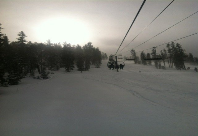 snow was insane today! awesome conditions! some of the best snow i have been in in a while!