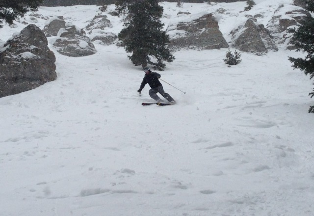 good skiing today