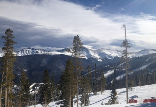 Nice conditions on Monday. Winter park would be one of my favorite  mountain's if it didnt take 3 lifts to get to the summit. As it is, the 4 mini-mountains offer beautiful terrain variety and something that every type of skier or rider can love.