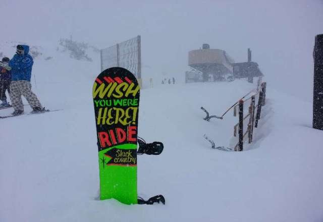 amazing day - 3 feet of pow and its all coming down hard. More expected.