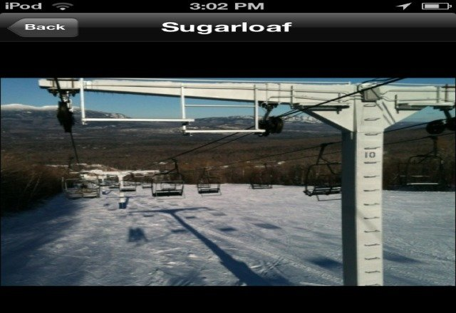 to the person who posted this picture is wrong. there in bo lift like this besides the double runners and this is to much of a slope for it so whoever took this wasnt at sugarloaf.