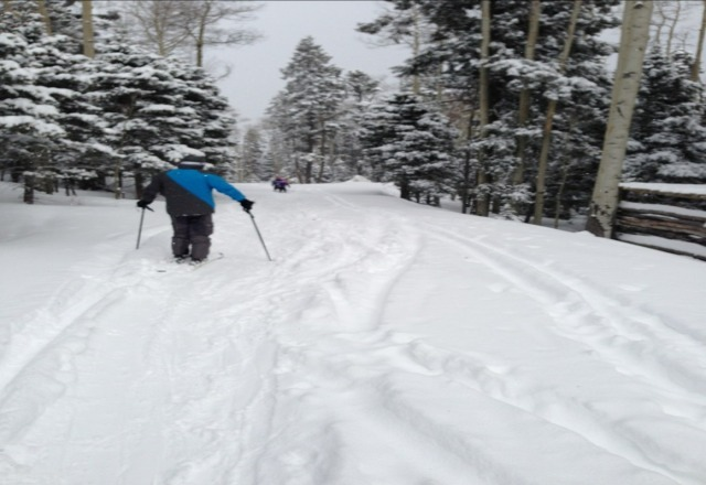 Red River was AWESOME today.   SOOO much powder