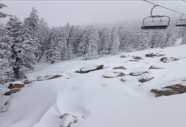 powder day ! thanks ski santa fe.