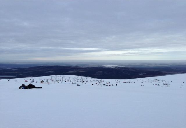 Excellent conditions, although a bit icy on the lower runs. Good visibility and clear skies!