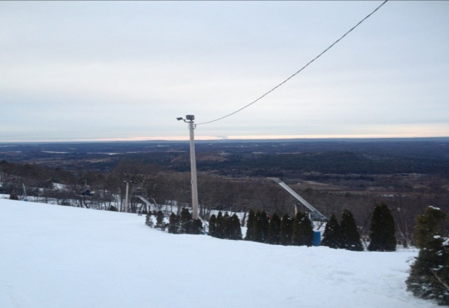 long lines til 3ish, icy at the end of the day come early or after 4 terrain park nicely groomed though