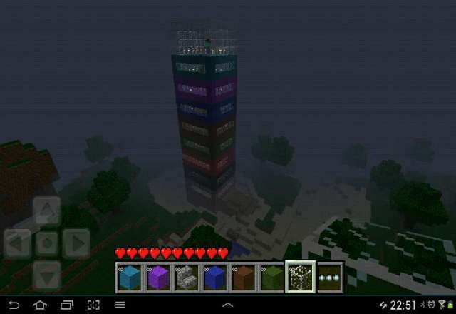 bad people my minecraft Hilton hotal it so cool do you like it if you like it then go away and find your bff