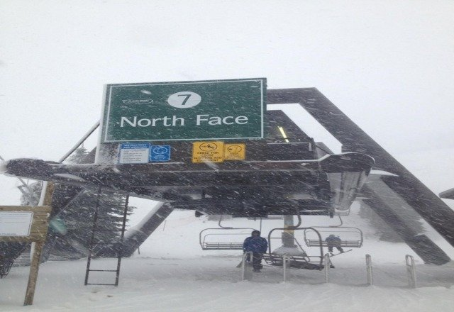 north face is getting clobbered right now!