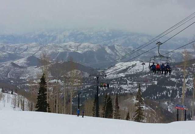 Pretty good skiing on Friday.