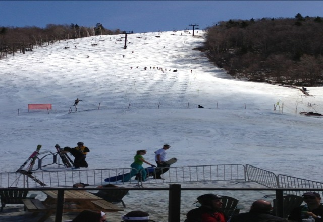 Great spring skiing. lots soft bumps. Canyon open 4 this weekend- Canyon slopes great but getting sparse.  Superstar open til 5. lors soft bumps and seeded bumps. Umbrellas open!!