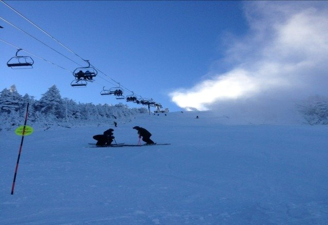 great pre christmas skiing. ricord was fun.