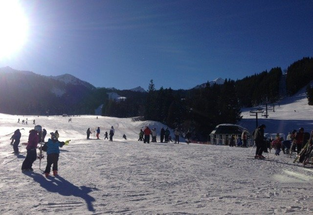 beautiful slopes and nicely groomed!