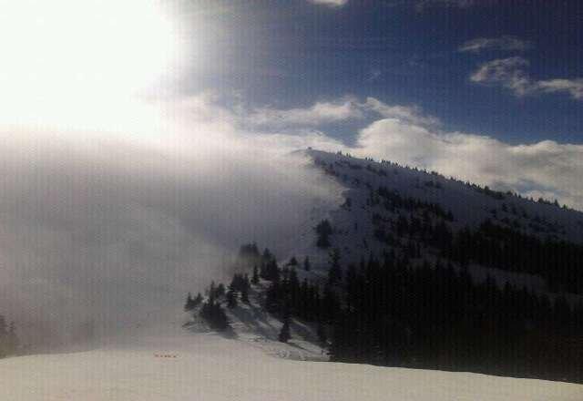 good snow today!