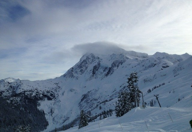 awesome day at baker. powder everywhere. going back tomorrow.