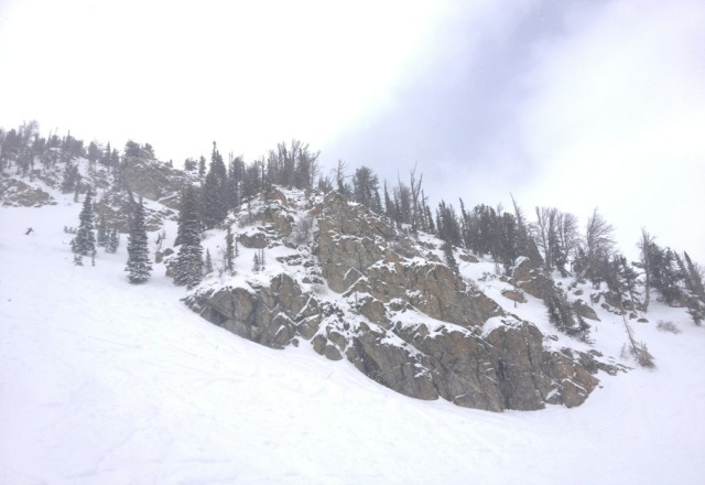 """Easily 10-12"""" on top this morning. Snowed all day and Now it's snowing more heavily than ever at the base. SWEETNESS!"""