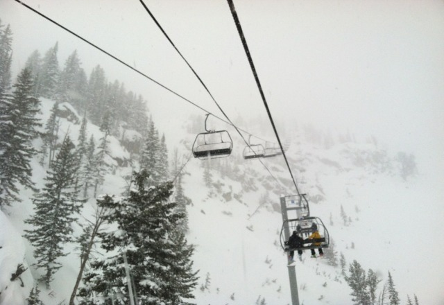 omg... the powder is cray out here!!!