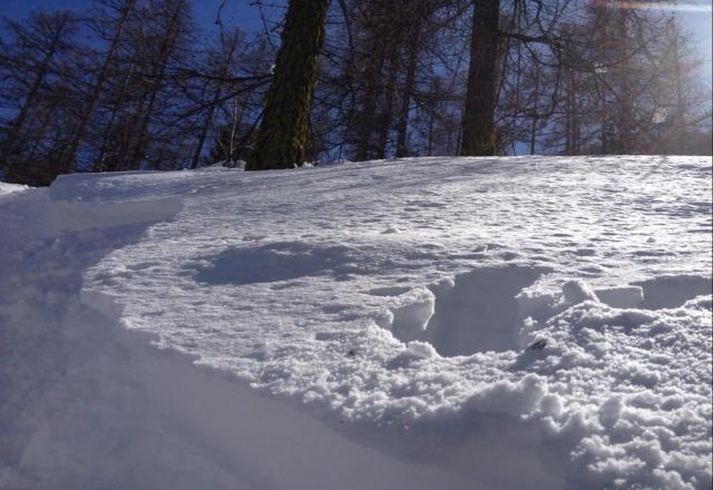 Tr?s bonne conditions de neige.