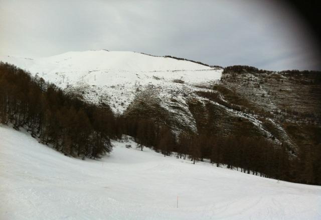 caldo, neve pochina ma tanta grinta.. speriamo ri nevichi