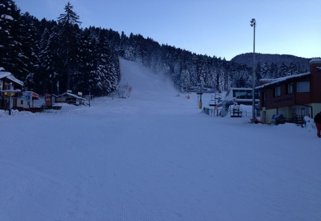 Borovets is ready.