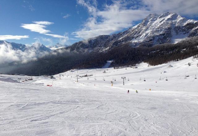 Belle piste molto curate! neve un po ghiacciata sulla pista di rientro