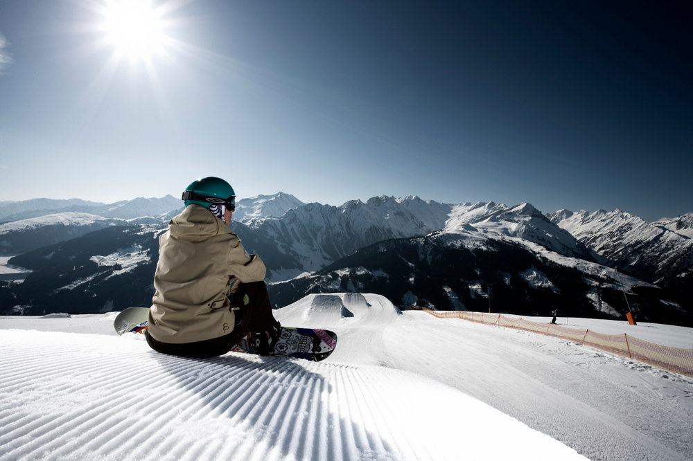 Snowpark in der Zillertalarena - © Zillertal Arena