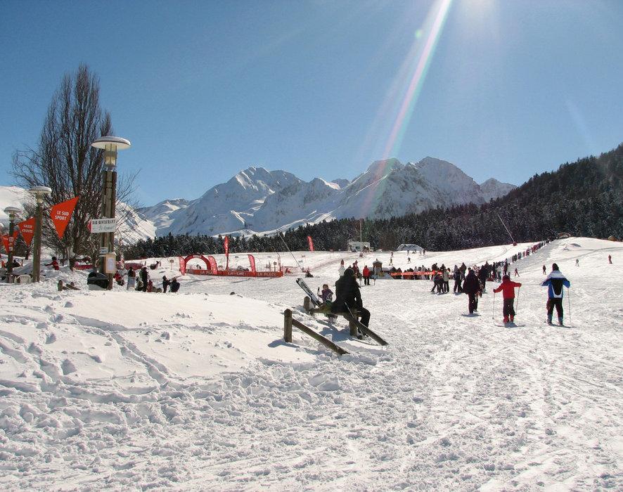 Au pied des pistes de ski de Val Louron