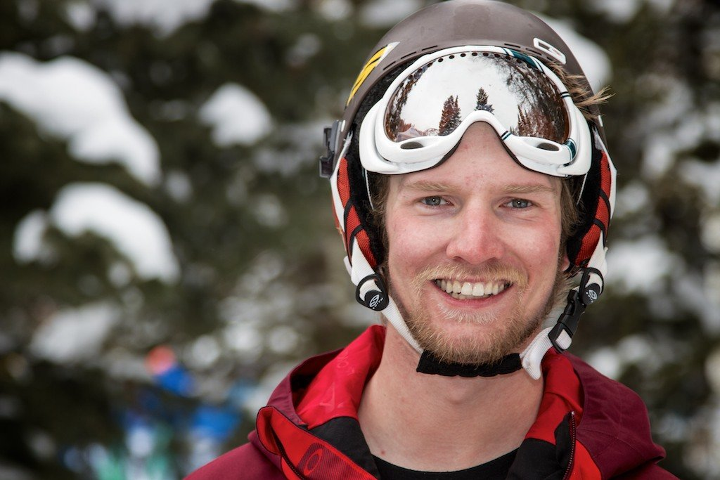 Donny O'Neill: Former OnTheSnow Assistant Editor, current Assistant Editor at Freeskier Magazine - © Liam Doran